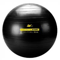 Гимнастический мяч ZIVA с насосом черный (55см, 65см, 75см)