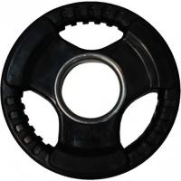 """Диски обрезиненные ZSO черные """"3 HANDLE"""" D-51 (1,25 - 25 кг)"""