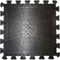 Спортивное резиновое покрытие, черный