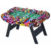 Настольный футбол (кикер) «Leon» (147 х 73 x 88 см, цветной)