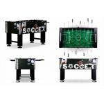 Настольный футбол (кикер) «Roma IV» (140x76x87 см, черный)