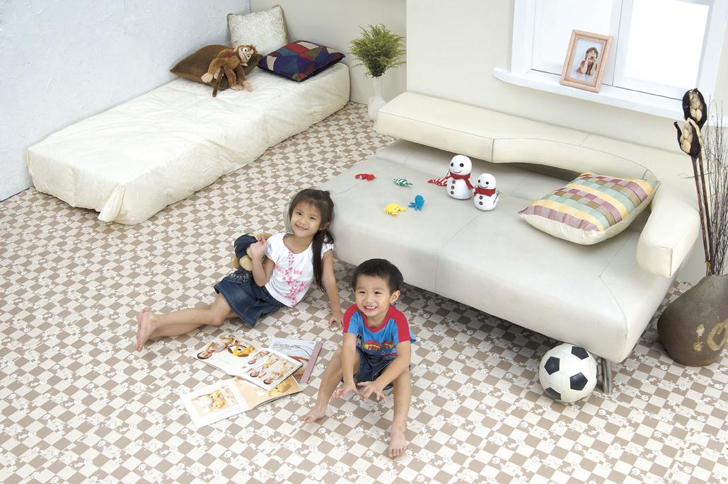 Купить мягкий пол для детских комнат